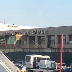 "Photo taken at Aeroporto di Catania Fontanarossa ""Vincenzo Bellini"" (CTA) by Eugene N. on 7/28/2013"