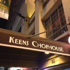 Photo taken at Keens Steakhouse by Joseph M. on 5/7/2013