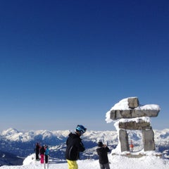 Photo taken at Whistler Blackcomb Mountains by Kathy L. on 3/9/2013