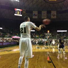 Photo taken at Ferrell Center by Mark C. on 2/14/2013