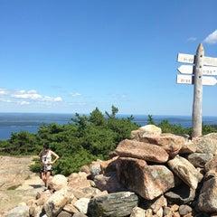 Photo taken at Dorr Mountain by Tobias K. on 8/15/2013