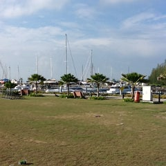 Photo taken at Marina Island Jetty Complex by Farah K. on 2/12/2013