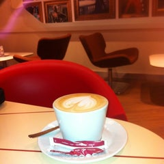 Photo taken at Lavazza Espression by Brian R. on 2/26/2013