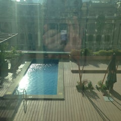 Photo taken at Hotel Mercure Santiago Centro by Sebastian Ignacio P. on 6/9/2013