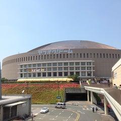 Photo taken at 福岡ヤフオク!ドーム (Fukuoka Yafuoku! Dome) by Clay L. on 6/3/2013
