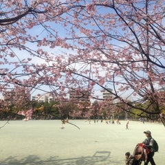 Photo taken at 木場公園 by Takeo H. on 3/17/2013