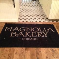 Photo taken at Magnolia Bakery by Priscilla C. on 1/28/2013