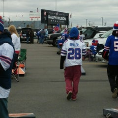 Photo taken at Lot 5 Ralph Wilson Stadium by Justin D. on 10/19/2014