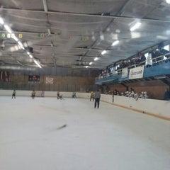 Photo taken at Talsu hokeja klubs (Talsi Ice Hockey club) by Anete K. on 2/22/2014