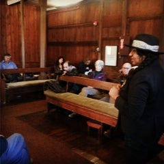 Photo taken at Flushing Meeting House by John C. on 11/14/2015