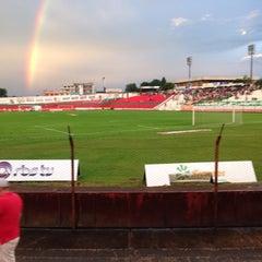 Photo taken at Estádio Vermelhão da Serra by Beto K. on 2/4/2015