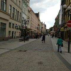 Photo taken at Ostrožná | Pěší zóna by Přemysl B. on 8/21/2013