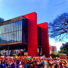 Photo taken at Museu de Arte de São Paulo (MASP) by Ronan P. on 6/22/2013