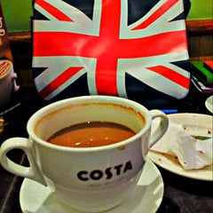 Photo taken at Costa Coffee by Ian M. on 10/24/2012