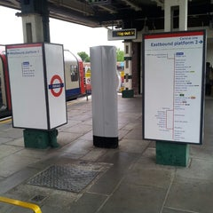 Photo taken at Perivale London Underground Station by Ian M. on 9/6/2013