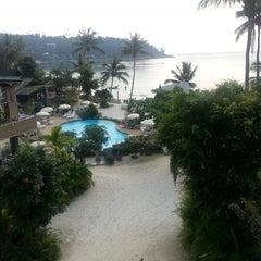 Photo taken at Haadlad Prestige Resort And Spa Koh Phangan by Evgenia I. on 3/8/2013