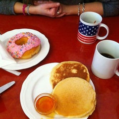 Photo taken at American Donuts by Camilla C. on 3/9/2013