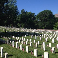 Photo taken at Alexandria National Cemetery by Lee Anne F. on 5/26/2014