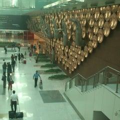 Photo taken at Terminal 3 by Mukund R. on 4/18/2013