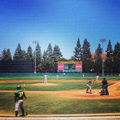 Photo taken at Dedeaux Field by Chris A. on 4/19/2015