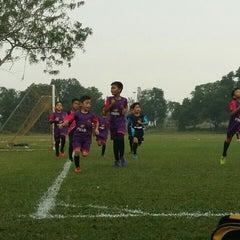 Photo taken at Stadium Mini Shah Alam by Papa Q. on 4/9/2016