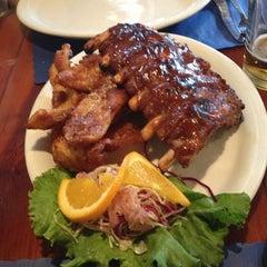 Photo taken at Rojo's Bar Tahoe by Felipe R. on 3/31/2013