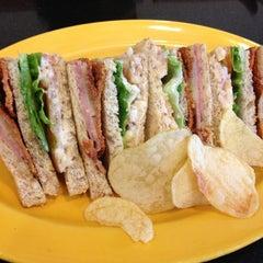 Photo taken at O'Briens Irish Sandwich Bar by Sze E. on 4/8/2013