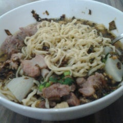Photo taken at Soto Mie Agih Sukabumi by Peter G. on 2/11/2013