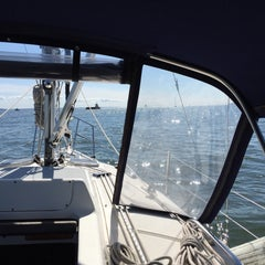 Photo taken at Long Island Sound by RP Z. on 9/5/2015