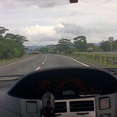 Photo taken at Jalan Tol Tangerang - Merak by Arbhi H. on 6/1/2013