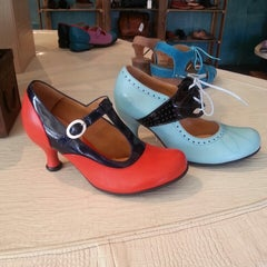 Photo taken at John Fluevog Shoes by April T. on 3/30/2014
