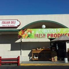 Photo taken at Roma Market Italian Deli by Jason C. on 11/20/2014