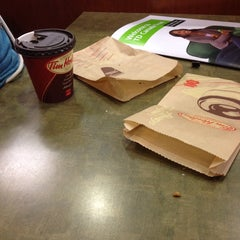 Photo taken at Tim Hortons / Wendy's by Mustafa A. on 10/5/2013
