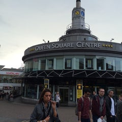 Photo taken at Queen Square Bus Station by zanna A. on 9/15/2014