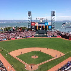 Photo taken at AT&T Park by Steve D. on 7/10/2013
