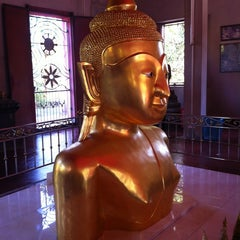 Photo taken at วัดพระทอง (หลวงพ่อพระผุด) (Wat Phra Thong) by Jeabzy S. on 3/19/2013