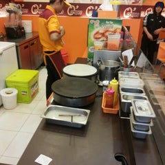 Photo taken at O' crepes margo city by Lau T. on 4/9/2014