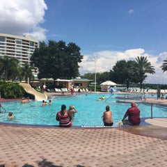 Photo taken at Contemporary Resort Pool by Lloyd Jason P. on 9/5/2015