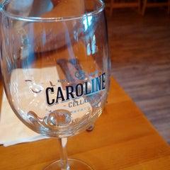 Photo taken at Caroline Cellars by Dominic L. on 5/8/2015