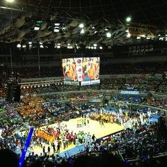 Photo taken at SMART Araneta Coliseum by Eman T. on 4/6/2013
