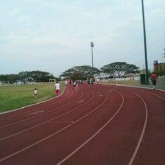 Photo taken at Unidad Deportiva by Rodrigo R. on 5/30/2013