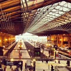Photo taken at Gare SNCF de Paris Nord by Beto G. on 2/8/2013