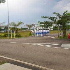 Photo taken at Pusat Latihan Polis Segamat(PULAPOL) by rica r. on 11/22/2012