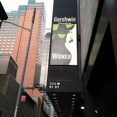 Photo taken at Gershwin Theatre by Chris P. on 7/3/2013