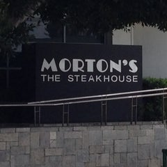 Photo taken at Morton's the Steakhouse by Glitterati Tours on 4/1/2013