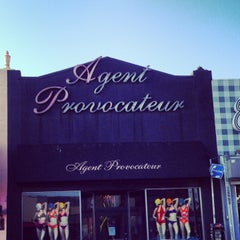 Photo taken at Agent Provocateur by Glitterati Tours on 5/20/2013