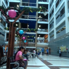 Photo taken at CDU Main Lobby by Larisse A. on 2/21/2013