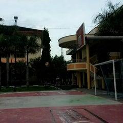 Photo taken at Lapangan Basket Unmuh Jember by zulmahenny on 1/3/2014