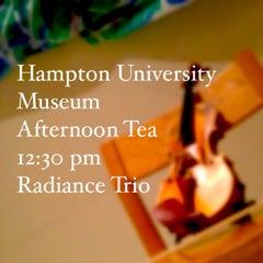 Photo taken at Hampton University Museum by Megan J. on 4/5/2014