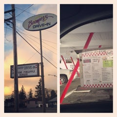 Photo taken at Boomer's Drive-In by Cassius X. on 3/8/2013